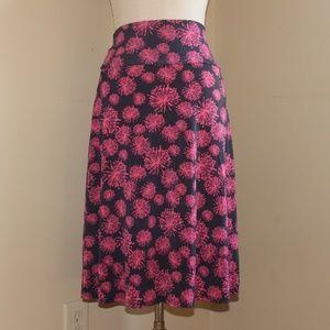 LuLaRoe Azure Skirt Size Large
